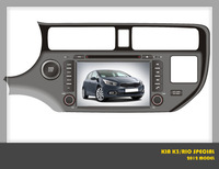 car dvd for  KIA RIO 2012 specail ,with GPS navigation system 8 inch touch screen free shipping