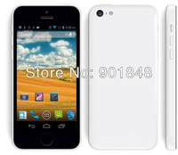 4inch Original Hero H5000+ 5C i5 MTK6572 Dual core Phone 1.0GHz h5000 Android 4.0 Wifi GPS 3G Smart android Phone Russian/Spain