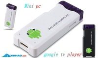 tv box android MK802 Set-top boxes Android 4.0 A10 Cortex A8 android IPTV box Mini PC