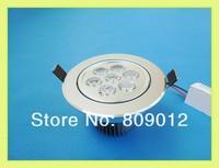 high power LED ceiling light 7W LED down light lamp LED ceiling lamp spot light AC85-265V 2 years warranty Fedex free shipping