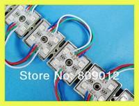 5050 RGB LED module waterproof LED pixel module light LED light module backlight SMD5050 DC12V 4 led wholesale free shipping