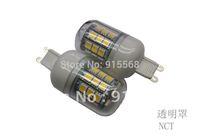 5Pcs/Lot SMD 5050 30 LED 200-240V LED Spot Light 6watt G9 Bulb Lamp  Cold white / Warm White 360 Degree Free Shipping  1#