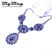 BigBing fashion jewelry fashion crystal Retro collar necklace choker necklaces  high quality free shipping KN131