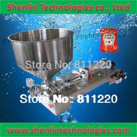 Pneumatic filling machine bottle piston filler paste cream bottling equipment food grade stainless hopper 30 fast ship 10-100ml