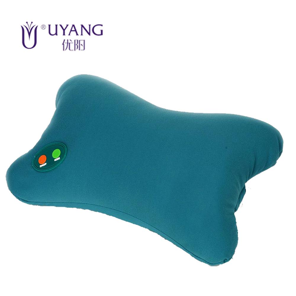Atacado produtos de cuidados saudável Neck Massager osso forma elétrica Nap Pillow massagem travesseiro carro travesseiro ajustável(China (Mainland))