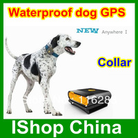 Waterproof dog / Pet  GPS  tracker , tracking by phone waterproof IPX6  Anywhere I