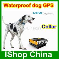 Waterproof dog / Pet  GPS  tracker , tracking by phone waterproof IPX6  Anywhere I