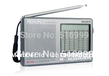Retail Wholesale Degen DE1103 PLL Digital Stereo AM FM LW SSB Shortwave Big speaker Radio have tracking number
