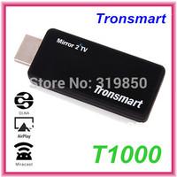 Tronsmart T1000 Miracast Dongle Better than Google Chromecast HDMI Wireless Display Ezcast Mirror2TV IPTV Android TV Stick