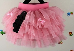 Free shipping,4pcs/lot 2013 new arrive baby children skirt,girl clothes princess tutu skirt,Bow gown skirt,0.7 kg,2-5 years(China (Mainland))