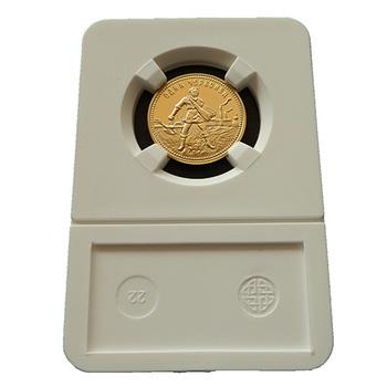 10 PCS/LOT High quality 1980 PCCP Gold clad coins