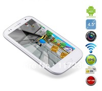 Free shipping!! 4.7inch smartphone i9300+ 5 Point Capacitive Screen 4GB Dual Camera Android 4.1 3G phone calling  MTK 6577