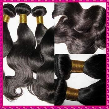 Mixed bundles Body wave Unprocessed Virgin filipino hair extensions 4pcs/lot Machine weave  Free DHL shipping