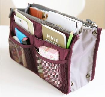 HOT Selling Women Cosmetic Bag  8 colors Large Organizer Bag Multi Functional Cosmetic Storage Handbag YU180
