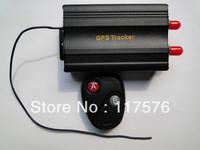 FREE SHIPPING   GPS TRACKER FOR VEHICLE TK103B car gps tracker