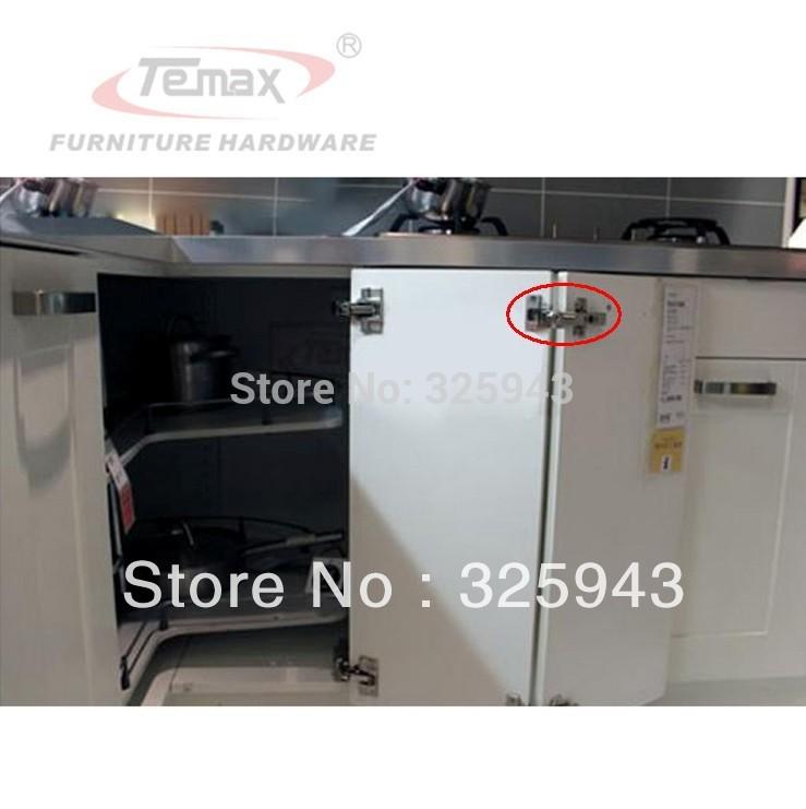 1PC Special 135 Degree Open Caninet Cupboard Hinge For Corner Folden Cabinet Door Furniture Hardware