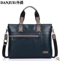New design useful Leather laptop case Genuine leather briefcase Business notebook bag Shoulder Messenger bag D8715-1