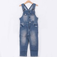 2013 B&k New Arrival Fashion All Seasons Children' S Clothing Jeans Overalls for Girls Boys Pants Trousers Kids Clothes kz1170