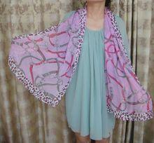 عالية الجودة الأزياء الكلاسيكية مع سلسلة النمر وشاح atifical 160*50cm 2013 أحدث مصمم وشاح الحرير للنساء