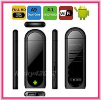 Bluetooth MK809II Android 4.2.2 tv box  RK3066 1.6GHz Dual Core 1GB RAM 8GB MK809 Mini PC Android tv box Cortex A9 wifi HDMI