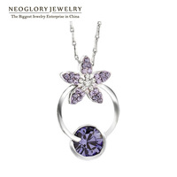 Neoglory Moveable Auden Rhinestone Alloy Plated Necklace Fashion Jewelry Gift For Women  Brand Sale Arrival  2014 Russia