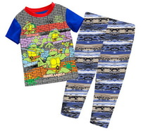 Children's IRONMAN Short Sleeves Lycra Pajamas Boy's Summer Cartoon Sleepwear Home Wear, 6 sizes (2T-7T)/lot - GPA229/GPA274