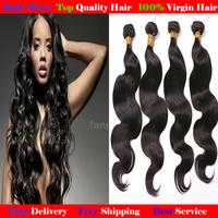 Peruvian Body Wave Hair 1 Bundle 12''-30'' 100% Virgin human hair Weaving Free Shipping 1 piece 100g