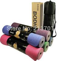 Original BODHI Anti-skidding Yoga Mat TPE 6mm Slip-resistant Thickening Broadened Yoga Mats 183*61 / 183*65 YJ0001