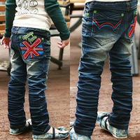 new 2014 spring kids jeans children pants children's jeans for boys kid clothing boy denim jean
