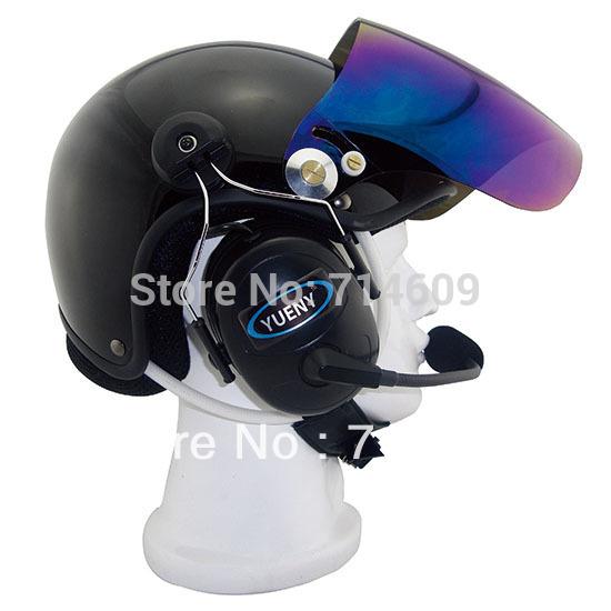 Paramotor Helmet With Headset Powered Paragliding Helmet