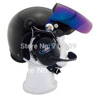 Paramotor helmet with headset/ powered paragliding helmet/ PPG helmet/ powered hang glider helmet