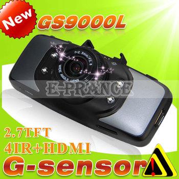 [Cheap] Original GS9000 GS9000L Novatek Car DVR Video Recorder+1920*1080P+Night Vision+120 Degree+ HDMI+ Built in 64MB Memory