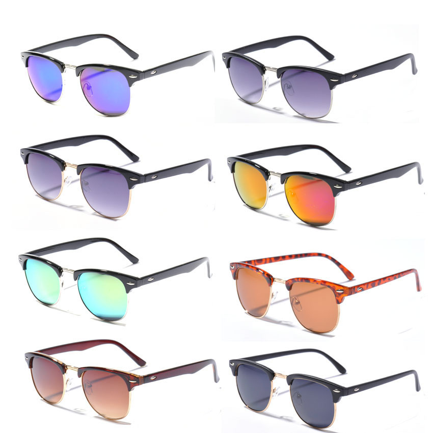 site da oakley usa  10 Colors New 2014 Retro font b Clubmaster b font font b Sunglasses b font Men