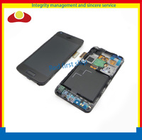 Original For Samsung Galaxy S Advance I9070 Lcd Display Touch Screen Digitizer With Frame Assembly Black Free Shipping HK Post.