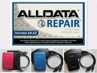 Free Shipping 2014 auto repair software Alldata 10.53+Mitchell on demand 5.8 2014+UltraMate+ESI with Keygen+ELSA 4.1+46 in 1TB