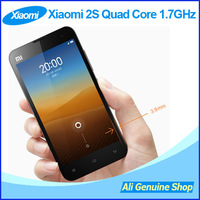 XIAOMI 2S m2s mi2s Quad-core 1.7Ghz 2G RAM 16G/32G ROM 3G Mobile Phones Android 4.1+MIUI 4.3'' IPS 1280x720P 8MP + Gift