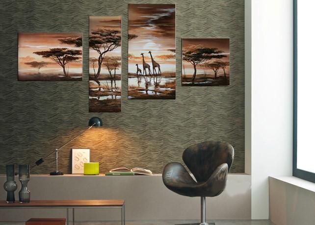 Картина Global Art handpainted 4 Home Decoration картина global art 100% handpainted 5 home decoration
