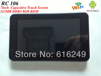 7 inch car gps tablet av in android 4.0 vehicle gps Wifi+AV-IN+FM+8GB+512MB DDR3 Dual camera  Navitel IGO maps