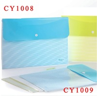 A4PP Transparent/Clear / Document/ BagPP Expanding file holder,document bag promotion pp file folder CY1008/CY1009 Free Shipping