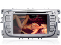 3G WiFi Car DVD GPS Stereo Sat Navi Headunit Player For FORD FOCUS MONDEO KUGA S-MAX C-MAX TRANSIT GALAXY FREE Shipping+Map