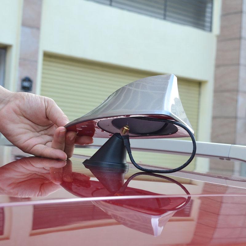 skoda fabia neueste design besondere funktion Hai antenne auto mit leeren radio haifischflosse antenne