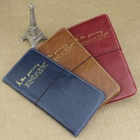 100% High Quality PU Leather Passport  Cover Famous Brand Travel Accessories Korean Passport Holders Free Shipping