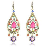 2014 New Jewelry Summer Dress Earrings Multicolor Bohemia Earrings for Woman (Minimum order USD10)