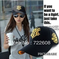 free shipping Stock MZ05 retail The hats wholesale Korean wolf baseball cap Cap for men and women cap child parent-child cap