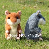 6PCS 5% OFF,15cm,New Arrival,Pet Mouse,Plush Animal,Talking Toy Hamster,1PC,Drop Free Shipping