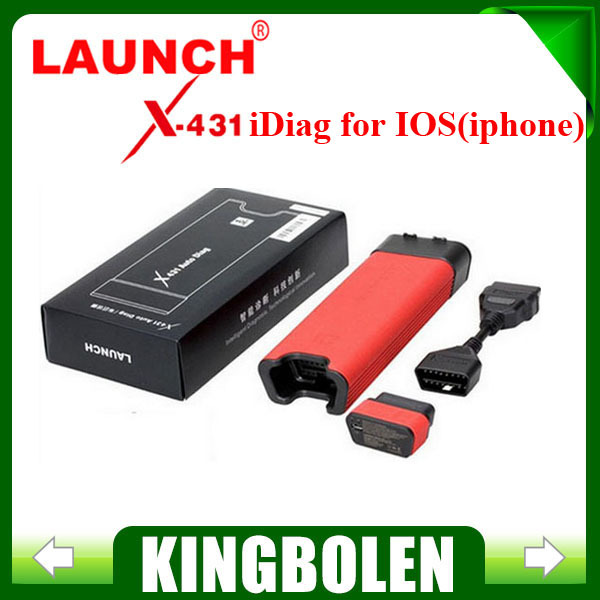 Big Promotion Free Shipping Launch X431 iDiag Auto Diag for ios Android X-431 AutoDiag intelligent Update Online(China (Mainland))