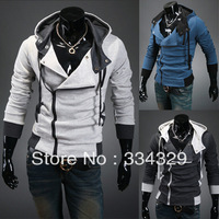 Hot Sale Fashion Autumn winter New Korean men's sweater Long sleeve jackets and coats male models men clothes free shipping