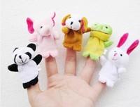 WJ013-10 Mini Fashion Cute Soft Animal Plush Small Toy Finger Dolls 6 CM Supernova Sale Cartoon Gift Panda Rabbit Ect Style