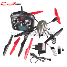 Free shipping WL V959 Lastest 2.4G 4-Axis 4CH RC Quad Copter Helicopter with Camera, Lights and Gyro V969 V979 V989 V999(China (Mainland))