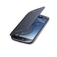 Free Shipping Samsung Flip Cover Case for Samsung Galaxy S3 (Pebble Blue)+Free screen protector